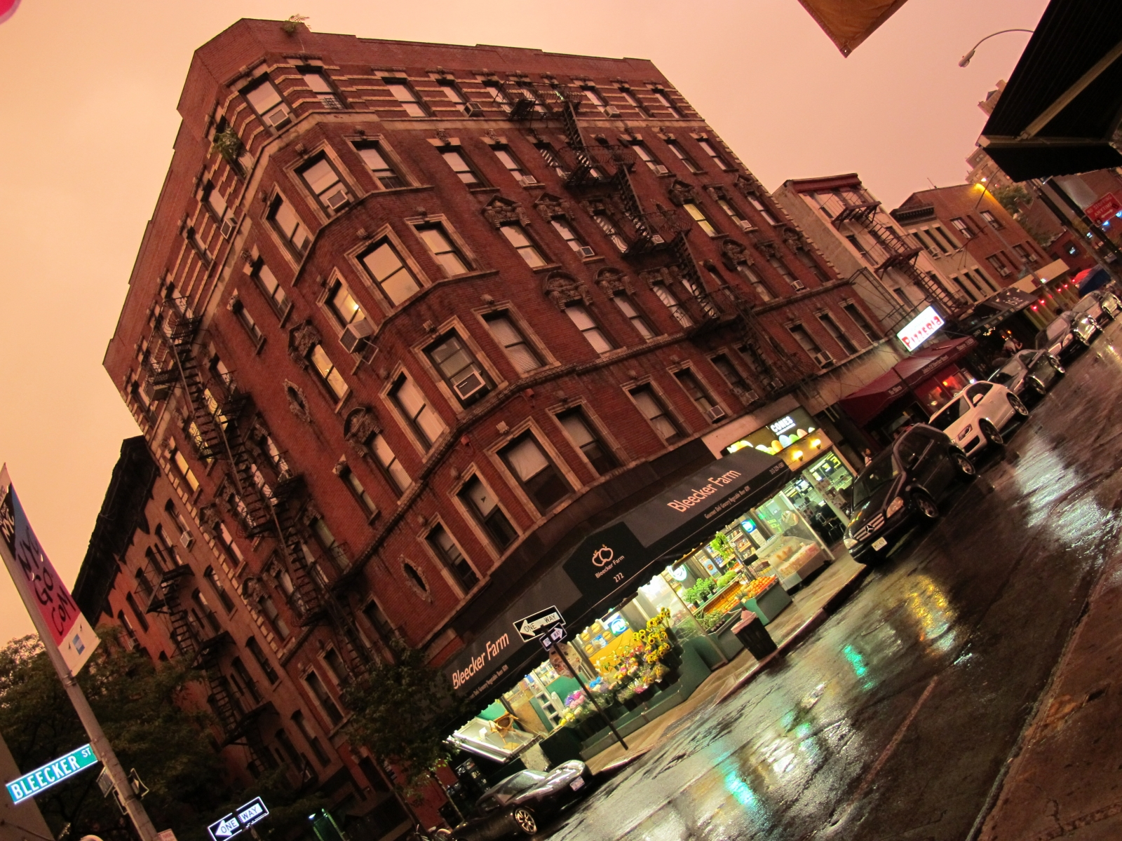 Rainy Night in SoHo