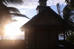 Kona Church at Sunset